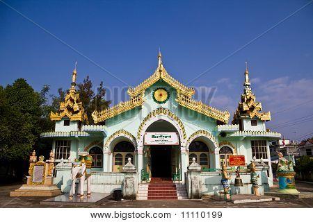 Dhammayon Temple Township Tachileik Union Of Myanmar