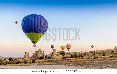 Baloons In Flight