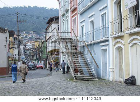 Downtown Angra Dos Reis, Brazil