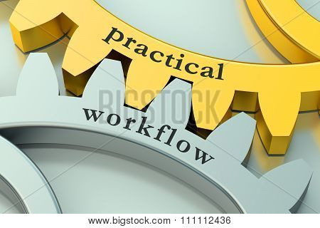 Practical Workflow Concept On The Gearwheels
