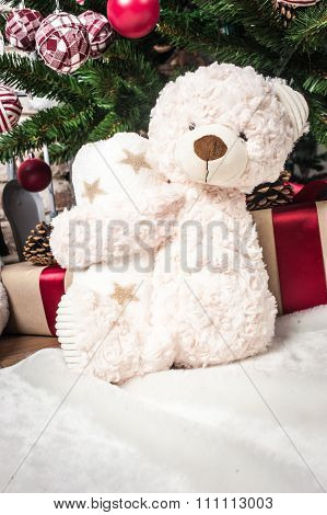 Toy Bear As A Gift