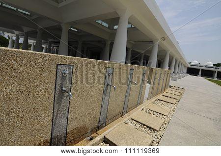 Ablution of An-Nur Mosque a.k.a Petronas Technology University Mosque
