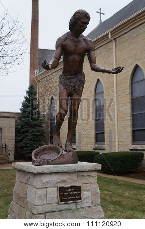 Saint John the Baptist Sculpture