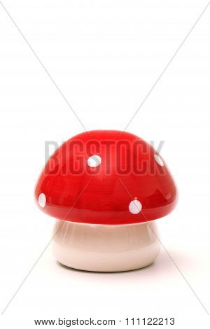 Red And White Polkadot Mushroom