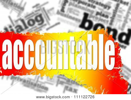 Word Cloud With Accountable Word
