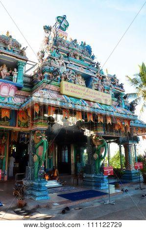 Sri Aruloli Thirumurugan,penang Hill Hindu Temple,penang Malaysia