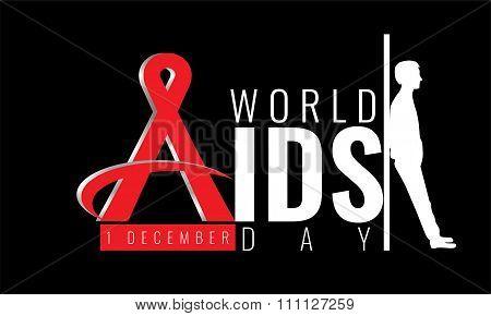 First December World Aids Day concept