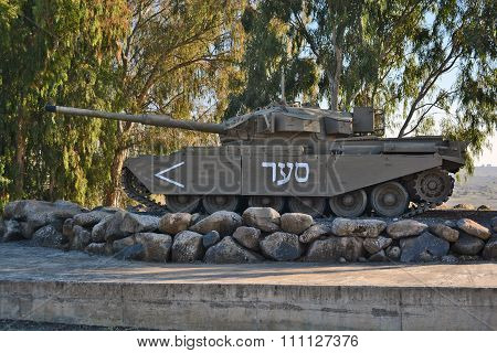 Merkava Tank