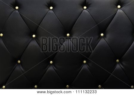 Black leather, texture