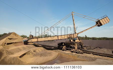 The Main Raw Material For Steel Is Iron Ore