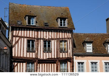 An Old House In Nogent Le Roi In Eure Et Loir