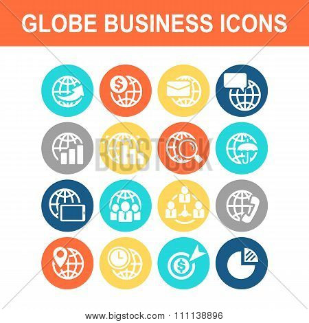 Global Business Finance Icon