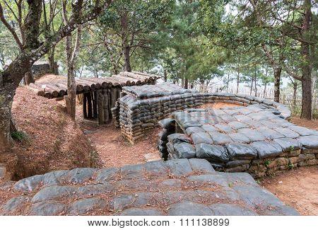 Old Sandbag Bunker