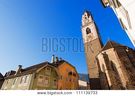Cathedral Of San Nicolo - Merano Italy