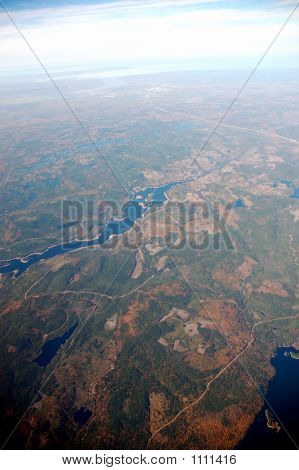 Aerial View Of Nova Scotia