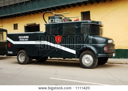 Riot Control Vehicle