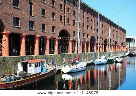 Albert Dock, Liverpool.