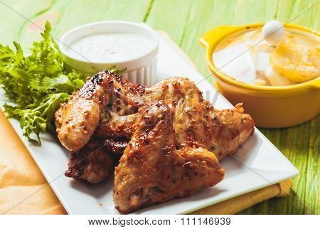 The Chicken wings
