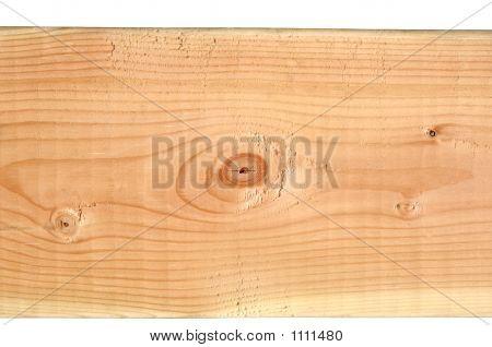 2X4 Pine Wood Lumber Isolated