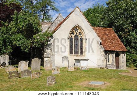 St Marys church,Turville.