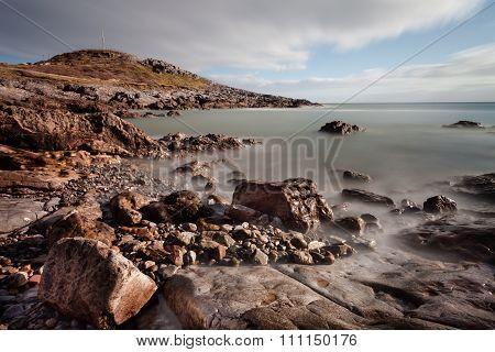 Limeslade Bay and Tut Hill headland