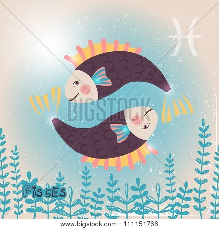 Pisces zodiac sign of Horoscope