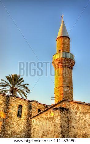 Taht El Kale Mosque In Nicosia - Cyprus