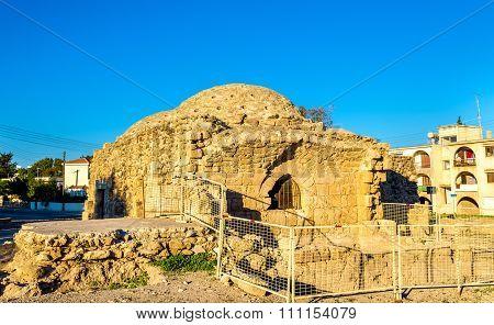Ancient Frankish Baths In Paphos - Cyprus