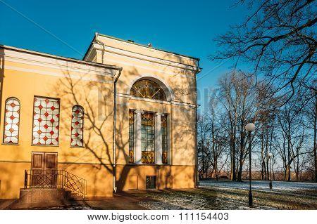 Rumyantsev-Paskevich Palace in Gomel, Belarus
