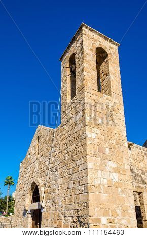 Bell Tower Of Panagia Chrysopolitissa Basilica In Paphos - Cyprus