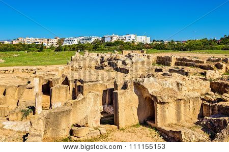 Tombs Of The Kings, An Ancient Necropolis In Paphos - Cyprus