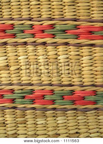 Ecuadorian Basket-Weave Background