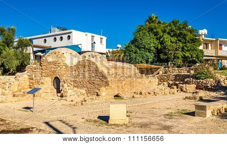 Medieval Ottoman Baths In Paphos - Cyprus