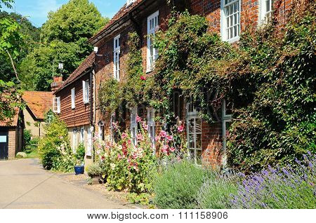 Pretty cottages, Hambledon.