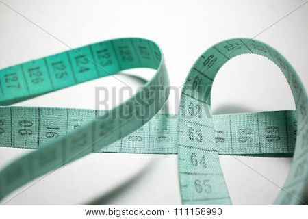 Measuring Tape. Turquoise