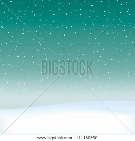 Snow Theme Background.