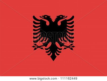 Standard Proportions For Albania Flag
