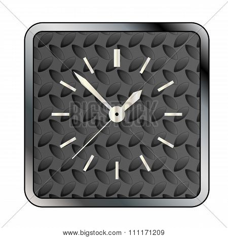 Metal Tread Clock Face