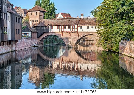 The Hangman Bridge In Nuremberg