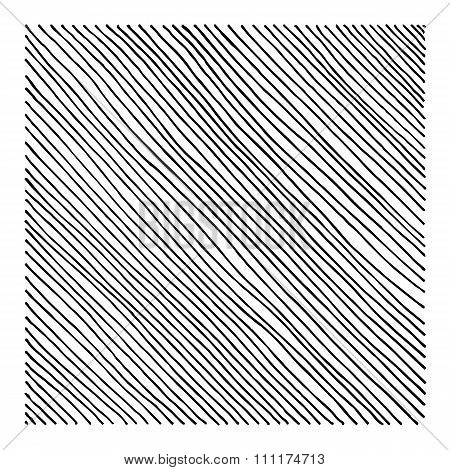 Hand Drawn Straight Black Diagonal Lines. Put These On Your Infographics And Certificates. Yes.