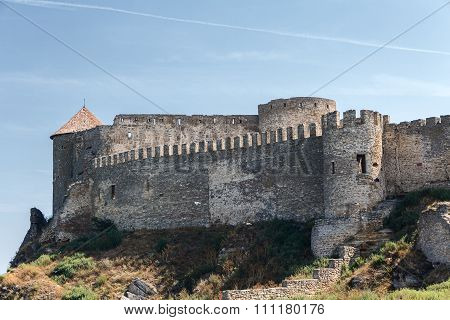 City Walls And Towers Of The Old Fortress. Belgorod-dniester, Ukraine