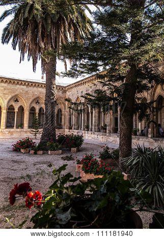 Old jewish graves on the mount of olives in Jerusalem,