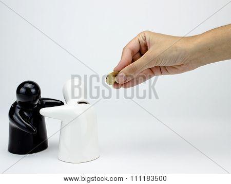 Ceramic Penny Bank