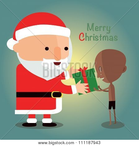 merry christmas for Disadvantaged children.