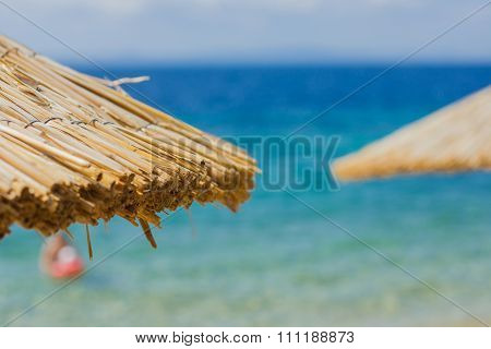 Summer Travel Destination Beach Sunshade