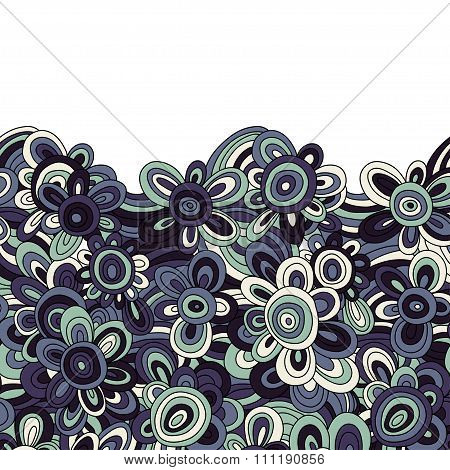 vector floral pattern. For easy making seamless pattern just drag all group into swatches bar, and u