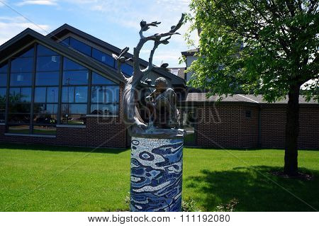 Sculpture: Ebb and Flow
