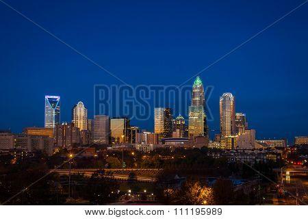 Evening Rush Hour Commute In Charlotte, North Carolina 5