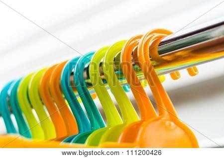 Set Of Colorful Coat Hanger