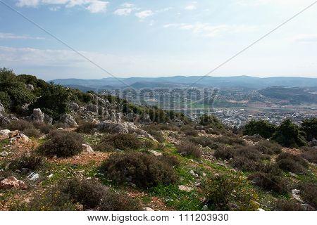 Landscape Of Galilee Israel